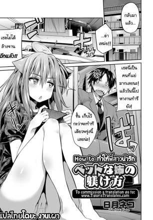 How to ทำให้พี่สาวน่ารัก – [Hinotsuki Neko] Pet na Ane no Shitsukekata – How to Train Your Pet Older Sister (COMIC Grape Vol. 24)